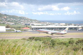 American Airlines special from Miami or New York to St Kitts