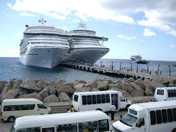 Cruise Passengers To St Kitts Inches To The Million Mark